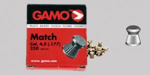 Air gun pellets GAMO match 4.5 mm 250 pcs