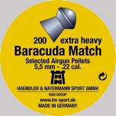 Air gun pellets H & N Baracuda match 5.51 mm 200 pcs