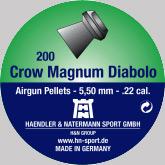 Air gun pellets H & N Crow Magnum Diabolo 5.5 mm 200 pcs