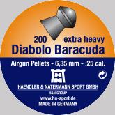 Air gun pellets H & N Diabolo Baracuda 6.35 mm 200 pcs