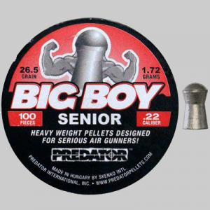 Air gun pellets Predator Big boy senior 1.85 gr. 5.5