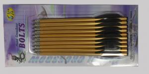short arrow for crossbow aluminium