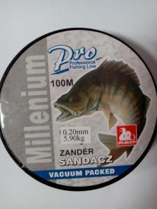 Line Dragon Millenium Sandacz Zander 100 m 0.20 mm
