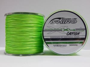 Line Mistrall Shiro Braided Line Catfish 300 m 0.60 mm