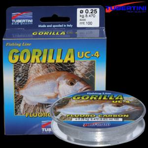 Line Tubertini Gorilla Fluoro Carbon 0.25 mm