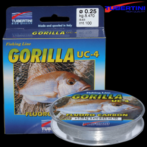 Line Tubertini Gorilla Fluoro Carbon 0.40 mm