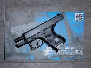 Airsoft Airsoft Glock-KJ27 GBB black