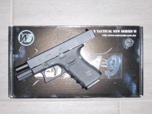 Airsoft Airsoft Glock-WE19 Gen 4 Metal Version GBB