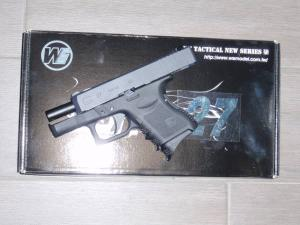Airsoft Airsoft Glock-WE27 Metal Version GBB black