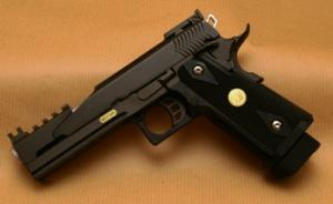 Airsoft Airsoft HI-CAPA Full Metal Dragon GBB Black WE