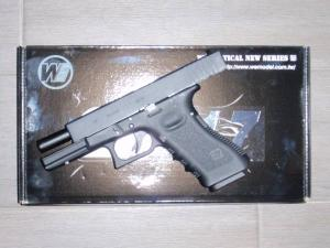 Airsoft Airsoft Glock-WE17 Metal Version GBB BLOW BACK