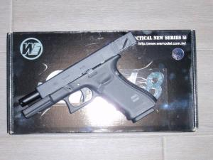 Airsoft Airsoft Glock-WE18C Gen 4 Metal Version GBB BLOW BACK