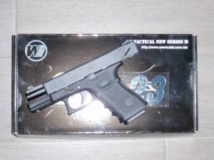 Airsoft Airsoft Glock-WE23 Metal Version GBB BLOW BACK
