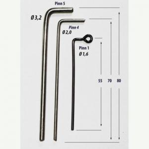 Cast for lead Pin 5 3.2 mm