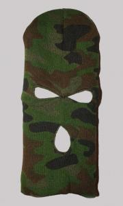 Hat ninja mask 3 holes camo