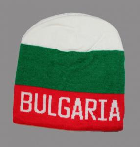 Hat winterwith white green red
