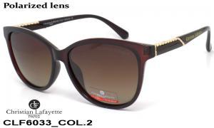 Sun glasses Cristian Lafaette polarized CLF6033 c-2 women