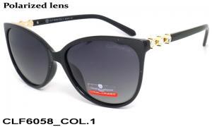 Sun glasses Cristian Lafaette polarized CLF6058 c-1 women