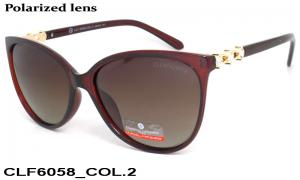Sun glasses Cristian Lafaette polarized CLF6058 c-2 women