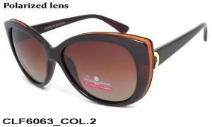 Sun glasses Cristian Lafaette polarized CLF6063 c-2 women