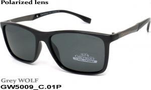 Sun glasses Grey Wolf polarized GW5009 c-01 mens