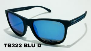 Sun glasses Ted Browne sport polarized TBs 322 c-BLU-D mens
