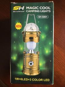 camping light Magic Cool SH-5801