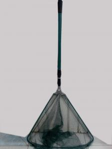 Folding fishing catcher in three sections 245x75