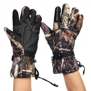 Gloves special bird camo L N51