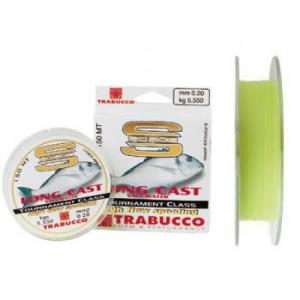 Line Trabucco S-Force Long Cast salt water 0.18 mm N3218