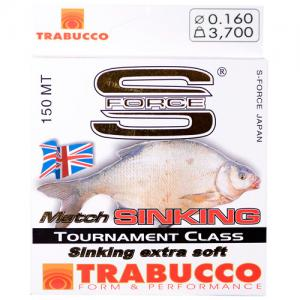Line Trabucco S-Force Match Sinking 0.16 mm