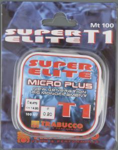 Line Trabucco Super Elite T1 micro plus 0.20 mm
