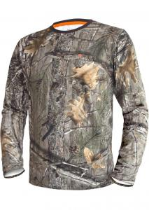 Clothes Fishing and Hunting Hunting T-shirt DGT Cotton long sleeve size XL 1-2 3DX