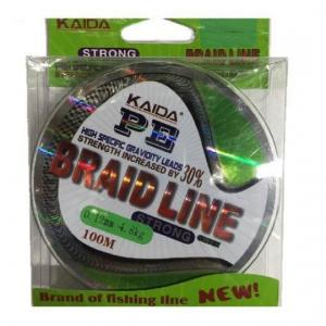 Line Kaida PE Braid Line 0.30 mm 100 m green