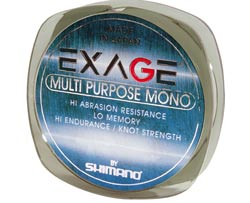 Line Shimano Exage multi purpose mono 150 m 0.35 mm