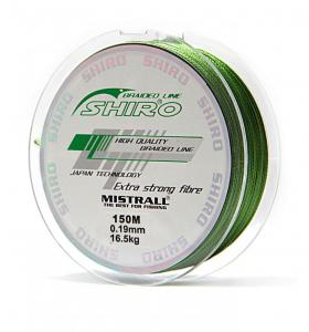 Line Shiro Mistrall Braided line 0.19 mm 150 m