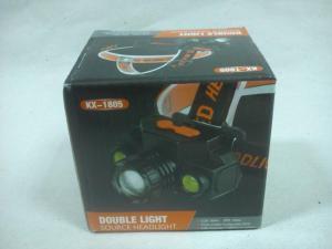 Double Light Source Headlight KX-1805