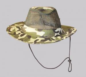 Hat Outdoor Fishing Breathable Sunhat Mesh Boonie Camo