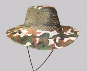 Hat Outdoor Fishing Breathable Sunhat Mesh Boonie Camo N8