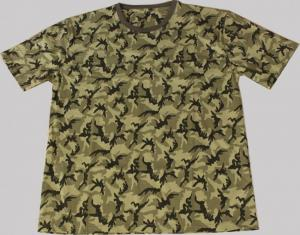 Hunting Clothes T-shirt MIRALI camo green lycra L