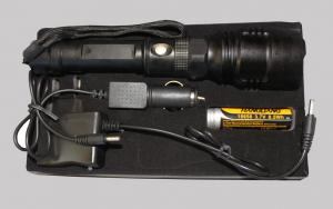 Rechargeable flashlight N505