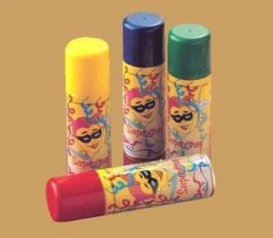 Party accessory spray serpentinas