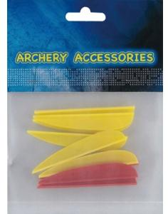 vanes for arrow 2.5 inches