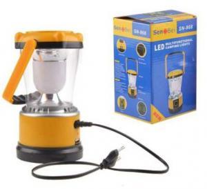 Camping solar LED lamp