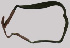 Gun belt green silikon