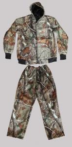 Hunting Clothes Winter siut with hood camo 2XL N722
