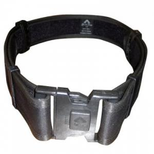 Leather accessory belt police MASC