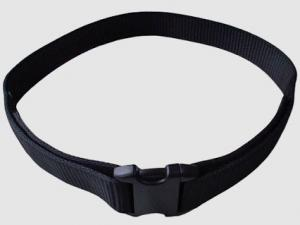 Leather accessory belt police cordura