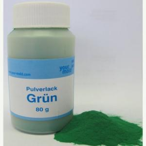 Cast for lead Paint green for pilkers jig heads 80 gr.