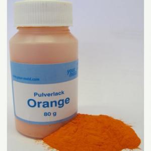 Cast for lead Paint orange for pilkers jig heads 80 gr.